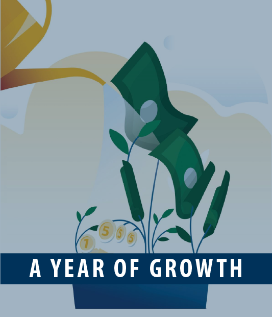 Year of Growth graphic
